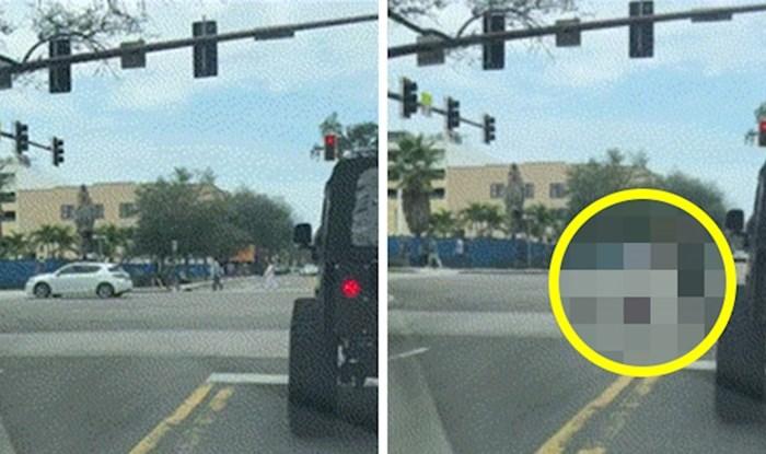 Pješak je nasmijao vozače koji su čekali na semaforu, pogledajte što je radio