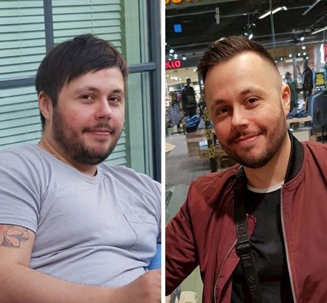 """""""Kad sam se oporavljao od raka, prestao sam razmišljati o kilaži. Sad sam se opet vratio na pravi put."""""""
