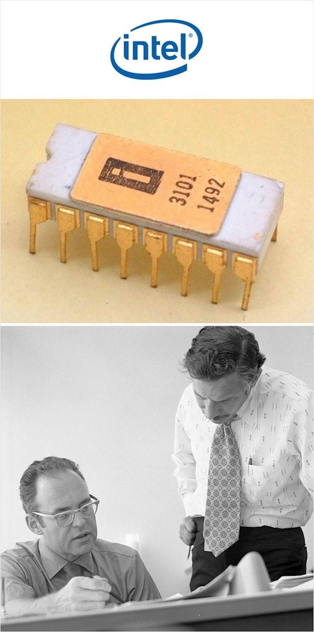 Intel memorijski čipovi (1969.)
