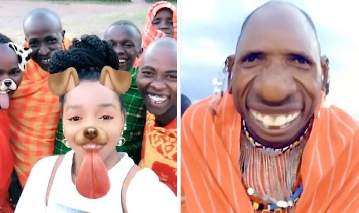 Afričko pleme je prvi put vidjelo Snapchat filtere, pogledajte kako su reagirali