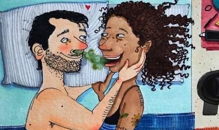 12 smiješnih stripova koji pokazuju da nije uvijek lako spavati s partnerom u istom krevetu
