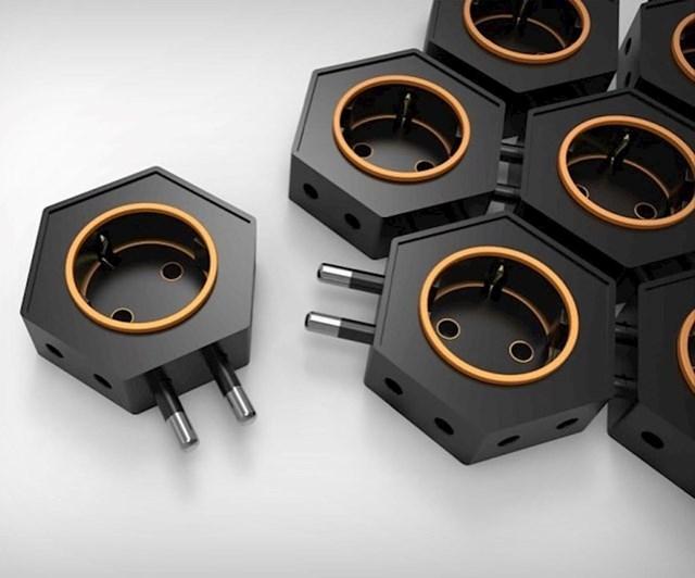 Dosta vam je ograničenih produžnih kabela? Ove male strujne šesterokute možete nadograđivati po potrebi.
