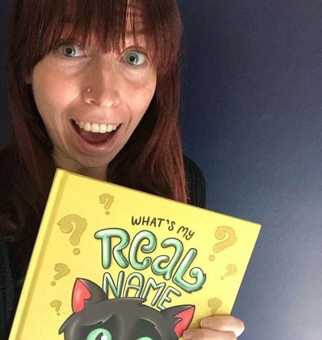 """""""Nakon godinu i pol napornog rada, moja je partnerica konačno objavila svoju prvu knjigu za djecu."""""""