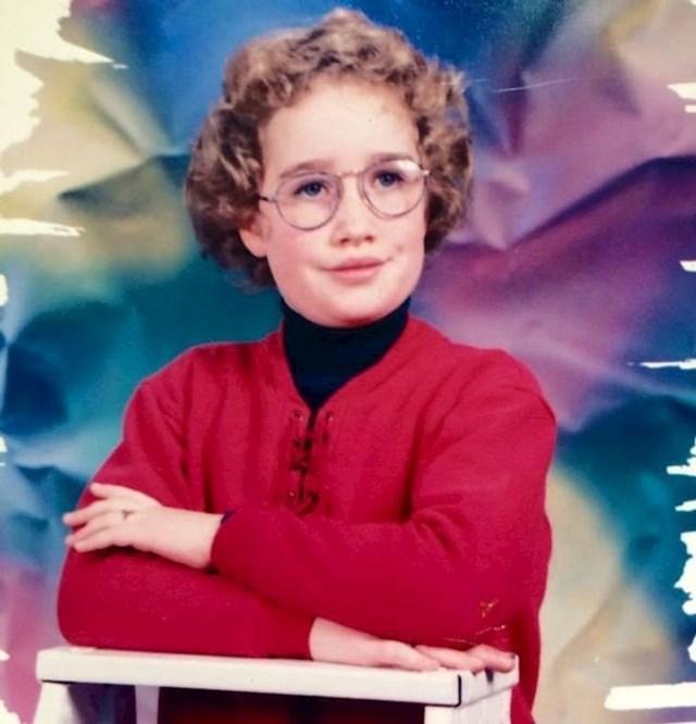 """""""Ova fotka je iz 1995. godine, s 8 godina sam izgledala kao knjižničarka koja je pred mirovinom."""""""