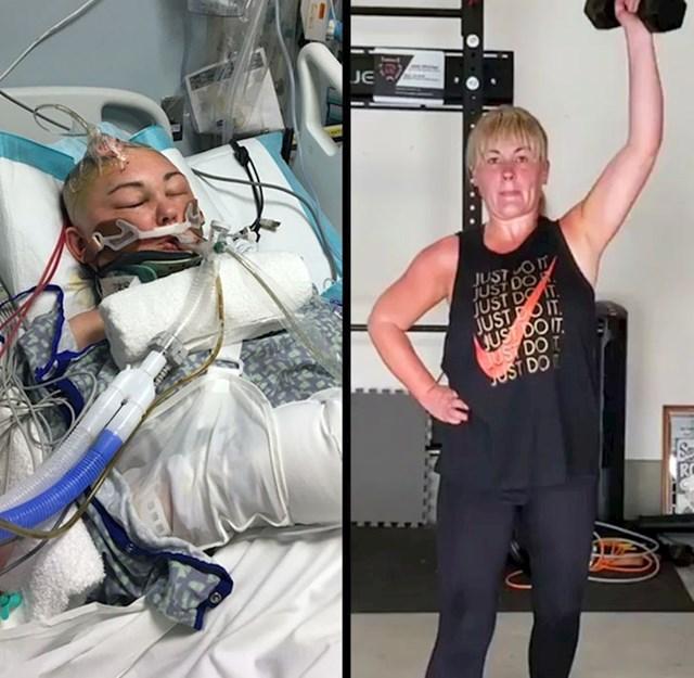 """""""Četiri godine nakon ozbiljne ozljede mozga, konačno sam opet u mogućnosti vježbati i osjećati se bolje."""""""