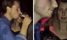 Nije mu puno trebalo da se djevojci u klubu totalno zgadi, pogledajte što je radio