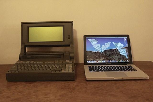 Dva laptopa, dva različita tisućljeća