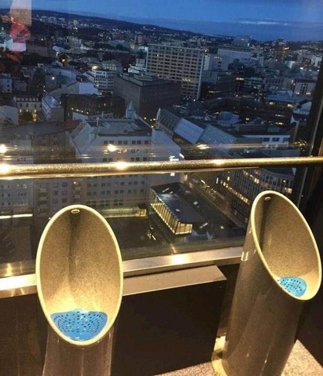 Jeste li ikad vidjeli javni WC s boljim pogledom? Ovaj se nalazi u norveškom glavom gradu, Oslu.