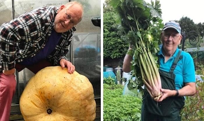 """71-godišnji """"kralj povrća"""" podijelio je svoje fotke i postao internetska senzacija"""