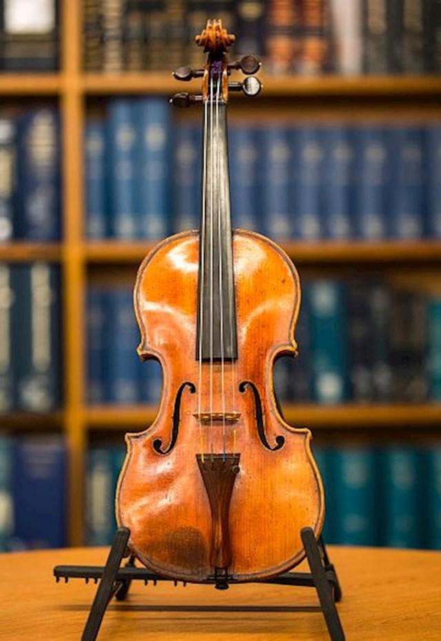 Violina Davidoff-Morini Stradivarius - 3.5 milijuna dolara