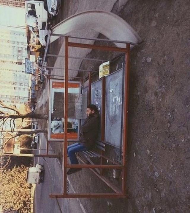 Ovakvo autobusno stajalište vjerojatno još niste vidjeli.