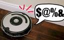 VIDEO Lik je modificirao robota za usisavanje da psuje kad se zaleti u nešto, rezultat je genijalan
