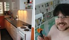 Stanar je renovirao kuhinju, rezultat je odličan iako gotovo ništa nije uložio u radove