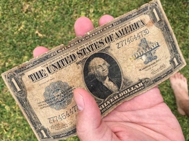 Slučajno je našao novčanicu staru 94 godine.