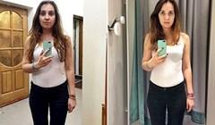 Slikala se u istoj odjeći u 11 različitih trgovina s odjećom, evo razlike koja ju je šokirala