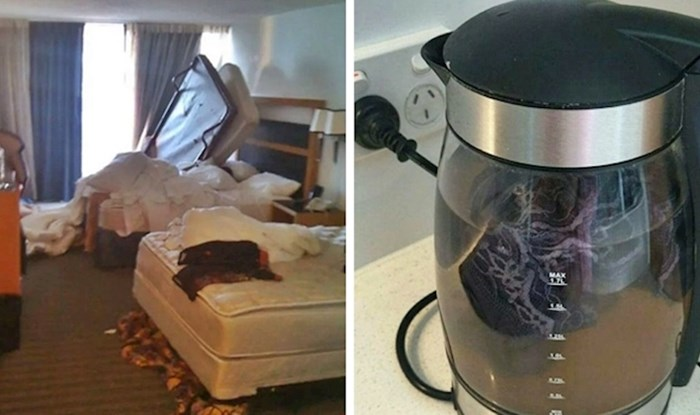 Radnici hotela slikali su najveće svinjarije koje su gosti ostavili za sobom
