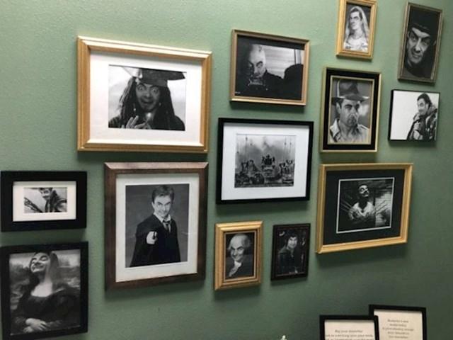 """""""Bio sam u javnom WC-u koji je pun fotošopiranih slika Mr. Beana."""""""