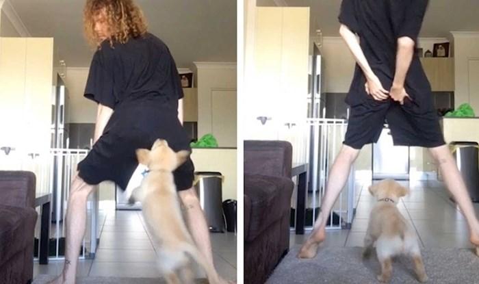 VIDEO Lik je snimao svoje twerkanje, no onda je došao psić i ukrao mu show