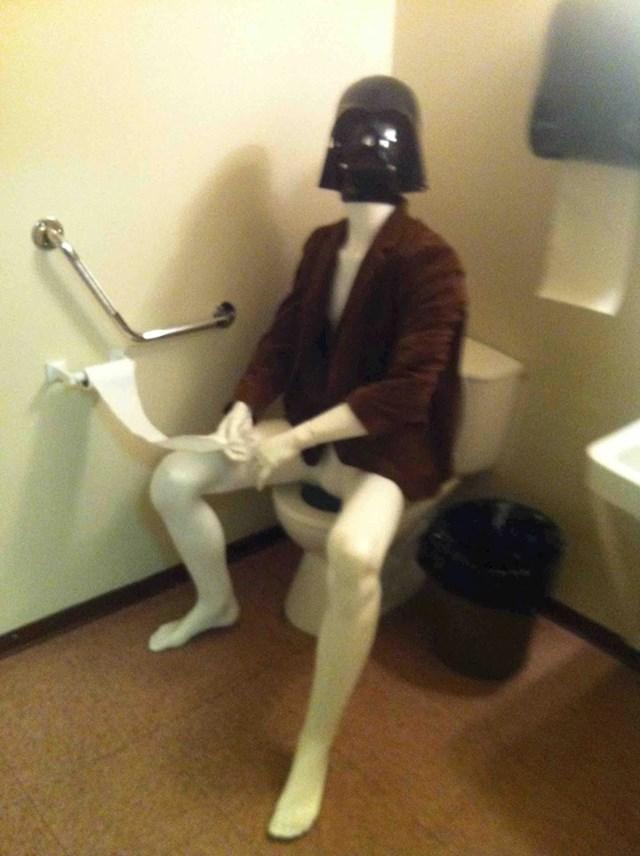 """""""Danas sam na poslu ušao u muški WC, dočekalo me ovo."""""""