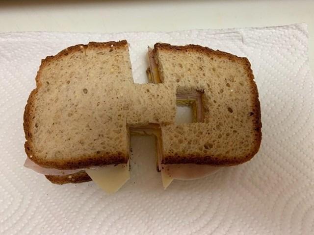 """""""Naša kći mrzi kad joj sendvič nije savršeno prerezan po sredini. Moja žena ju je iz zabave ponekad namjerno živcirala zbog toga."""""""