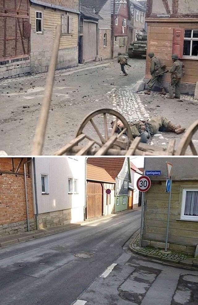 Ista ulica 71 godinu kasnije