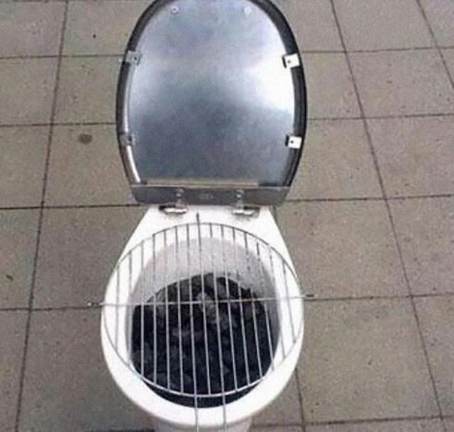 """""""WC školjka se može koristiti i kao roštilj."""""""