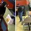 VIDEO Muškarac došao opljačkati restoran, nije znao da u njemu sjedi policijski bračni par