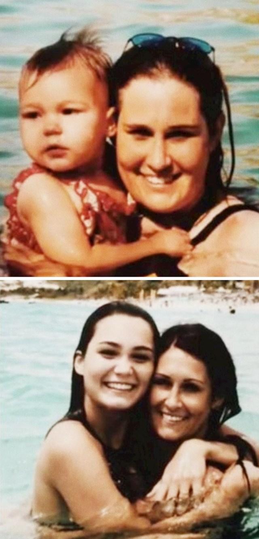 """""""Mama i ja, 2001. i 2017. godina."""""""