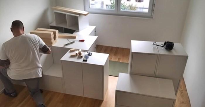 VIDEO Nakupovali su elemente iz Ikee pa napravili nešto što je kći oduvijek htjela imati