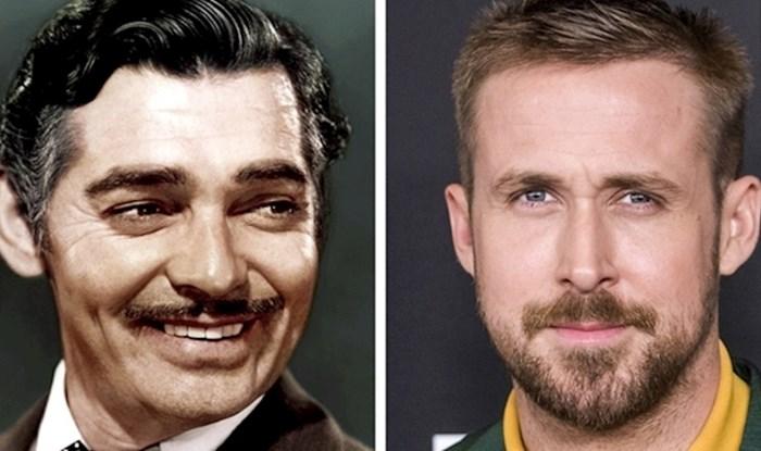 Usporedili su izgled današnjih i starih glumaca kad su imali jednak broj godina, razlika će vas iznenaditi