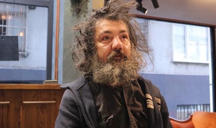 VIDEO Beskućnika je pozvao u salon, pola sata kasnije izgledao je kao pravi gospodin