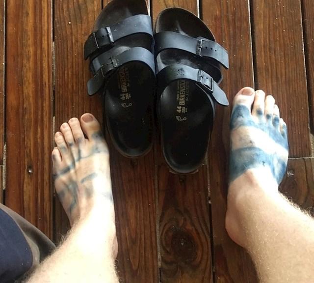 """""""Kupnja ovih papuča nije bila dobra ideja."""""""