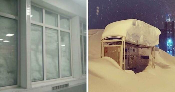 Ovaj grad u Rusiji svake godine je zatrpan u snijegu, fotke izgledaju nevjerojatno
