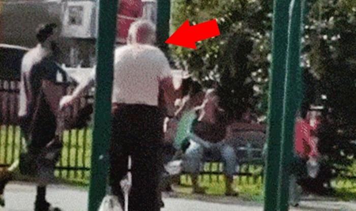 Djed je otišao na dječje igralište pa svojim čudnim potezom nasmijao ostale