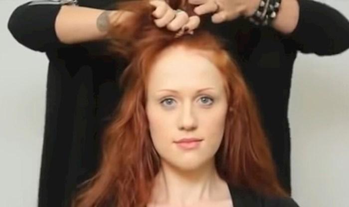 Došla je u salon na makeover, a oni su joj obrijali glavu. Evo kako je reagirala na svoj novi izgled