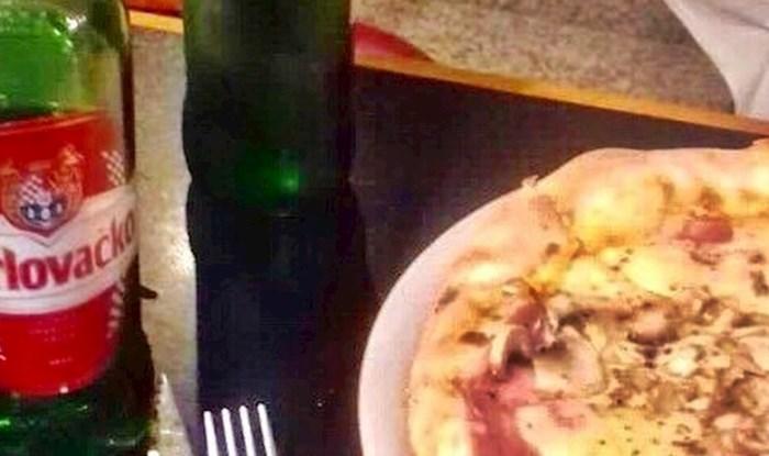 Samo u Dalmaciji: U restoranu je naručio pizzu, uz pribor za jelo je dobio još nešto