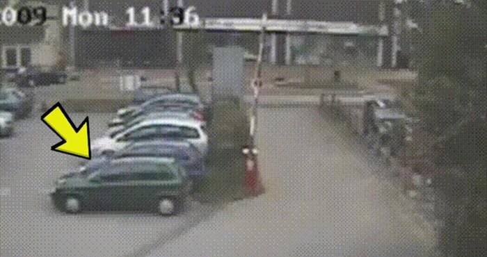 Čovjeku nije bilo jasno tko mu je uništio auto, a onda je vidio ovu snimku