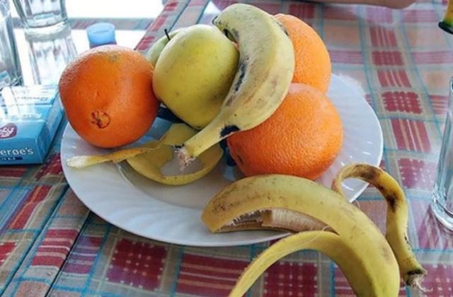 Ako ikad posjetite Maroko, nemojte očekivati da ćete dobiti gotovu voćnu salatu.