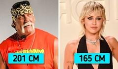 Mogli biste se iznenaditi kada vidite koliko su neke od ovih poznatih osoba zapravo visoke
