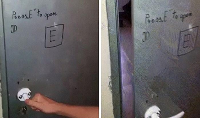 Upute koje ne lažu 😂 Smijat ćete se kad vidite kako se ova vrata otvaraju