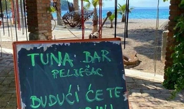 Restoran s Pelješca prilagodio je cijene novim uvjetima i nasmijao Facebook ovim natpisom