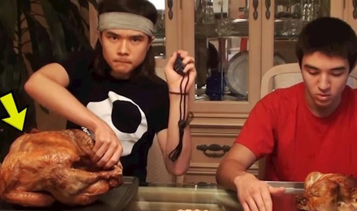 VIDEO Ovaj lik je nabavio puricu od 9 kg i odlučio provjeriti može li je pojesti odjednom