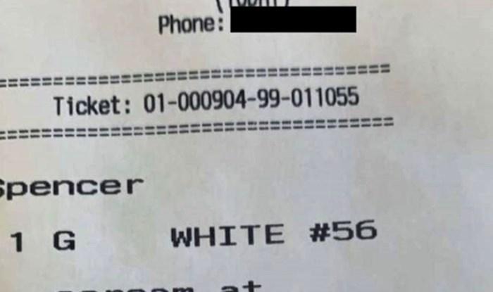 Radnik fast food restorana nije znao što da misli kad je vidio ovu narudžbu