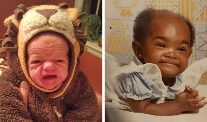 Simpatične fotke bebica koje izgledaju kao minijaturne verzije umirovljenika