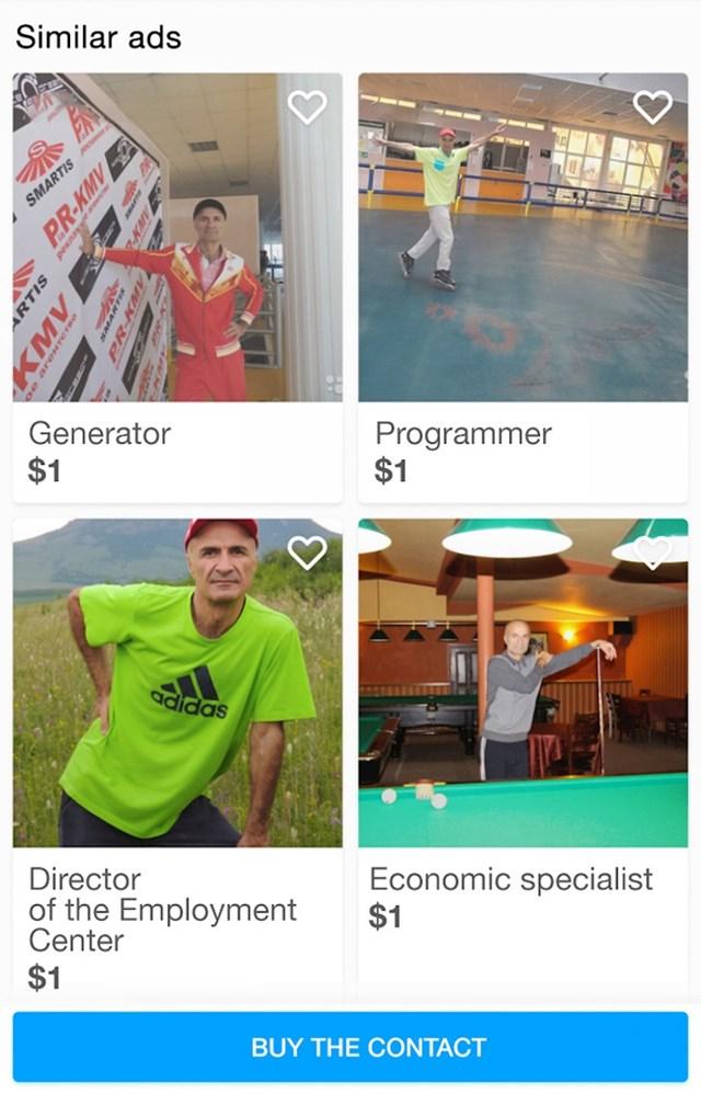 Svestrani muškarac napravio je seriju oglasa u kojima nudi svoje usluge.