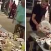 Konobar je svojim potezom zadivio goste, pogledajte kako je odnio ostatke