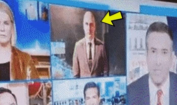 Reporter je izvještavao uživo na vijestima, smijat ćete se kad vidite što se zapravo događalo iza kamere
