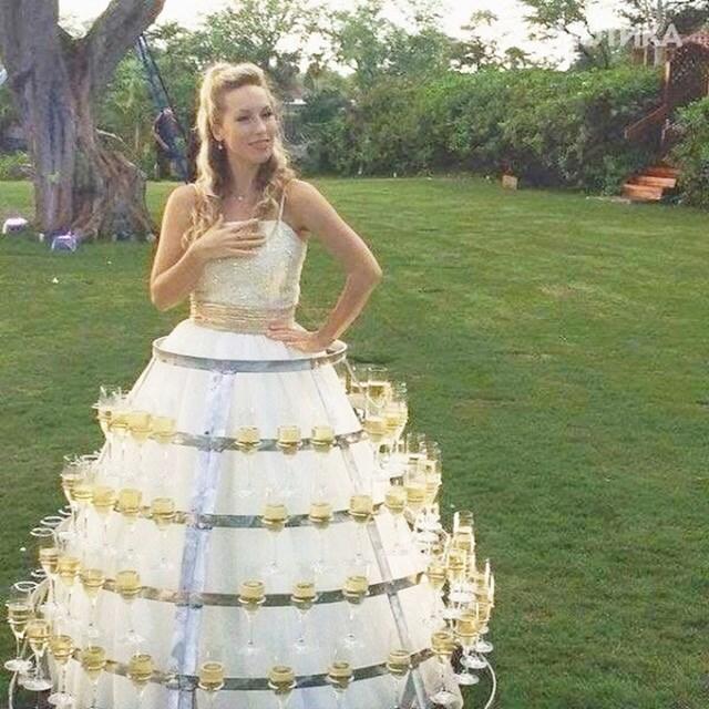 Neobična haljina za vjenčanja