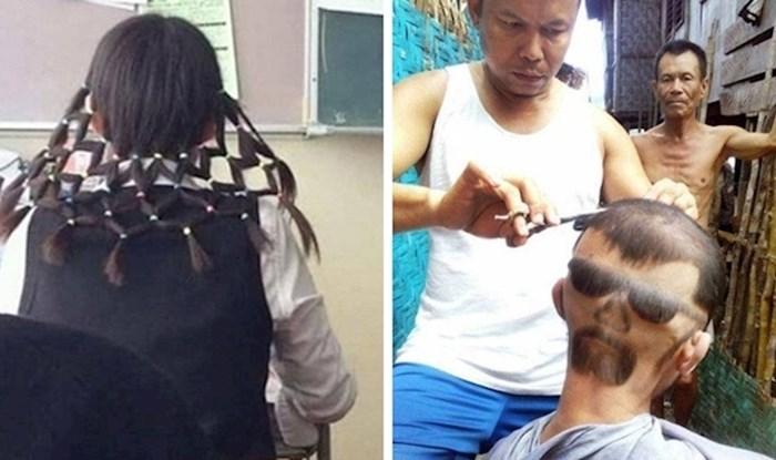 20 smiješnih slika ljudi koji se ne mogu pohvaliti da imaju dobre frizure