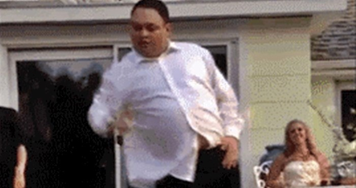 Na svadbi je pokazivao svoje plesne pokrete, a onda se osramotio pred svima